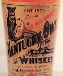 original kentuckyowl label - Eight Famous Owl Brand Names